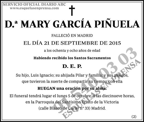 Mary García Piñuela